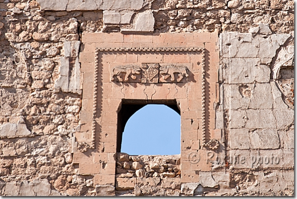 Porte aux lions - Door with lions - Hasankeyf
